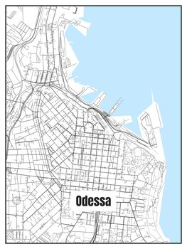 Kartta Odessa