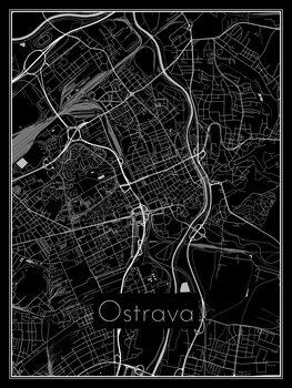 Kartta Ostrava