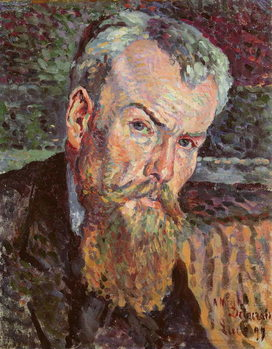 Portrait of Henri Edmond Cross (1856-1910) 1898 (oil on canvas) (detail) Taidejuliste