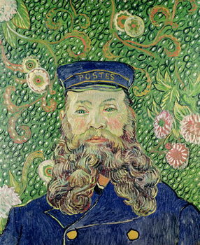 Portrait of the Postman Joseph Roulin, 1889 Taidejuliste