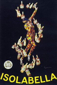 Poster for Isolabella. Illustration by Leonetto Cappiello. 1910. Taidejuliste