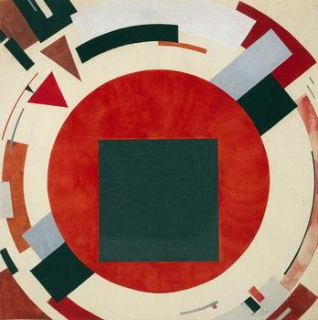 Proun, circa 1922, El Lissitzky Taidejuliste