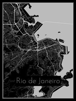 Kartta Rio de Janeiro
