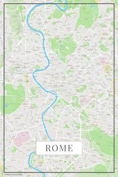 Kartta Rome color