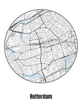 Kartta Rotterdam