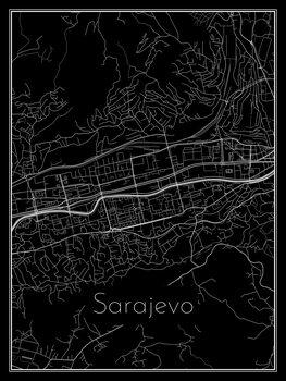 Kartta Sarajevo