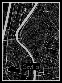 Kartta Sevilla