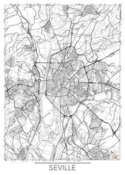 Kartta Seville