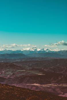Eksklusiiviset taidevalokuvat Snow mountains at background
