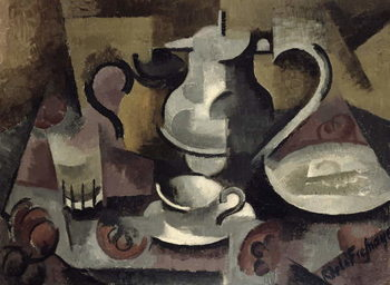 Still Life with Three Handles Taidejuliste