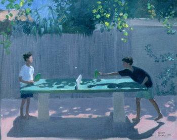 Table Tennis, France, 1996 Taidejuliste