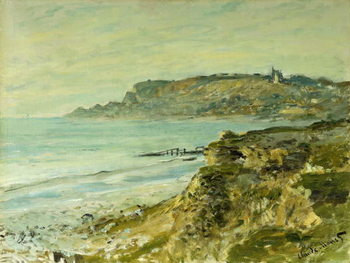 The Cliffs at Sainte-Adresse; La Falaise de Saint Adresse, 1873 Taidejuliste