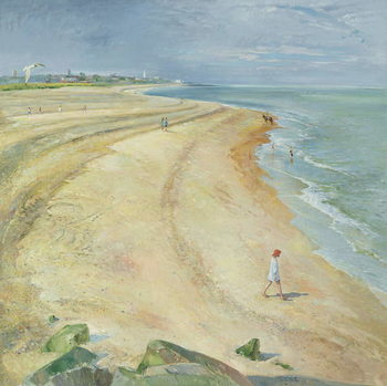 The Curving Beach, Southwold, 1997 Taidejuliste