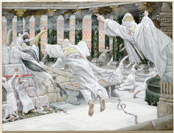 The Dead appear in the Temple, illustration for 'The Life of Christ', c.1886-96 Taidejuliste