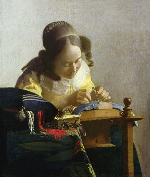 The Lacemaker, 1669-70 Taidejuliste