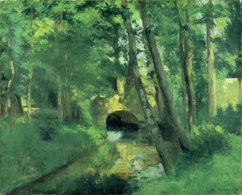The Little Bridge, Pontoise, 1875 Taidejuliste