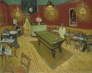 The Night Cafe, 1888 Taidejuliste