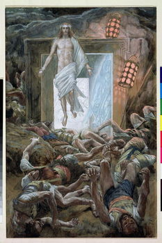 The Resurrection, illustration for 'The Life of Christ', c.1886-94 Taidejuliste