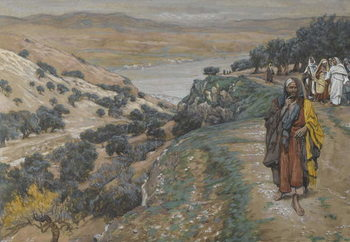 The Rich Young Man Went Away Sorrowful, illustration from 'The Life of Our Lord Jesus Christ', 1886-96 Taidejuliste