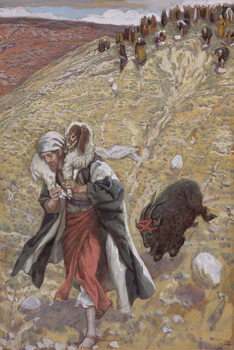 The Scapegoat, illustration for 'The Life of Christ', c.1886-94 Taidejuliste