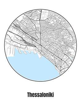 Kartta Thessaloniki