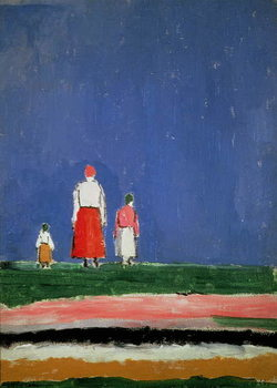 Three Figures, 1913-28 Taidejuliste