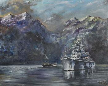 Tirpitz, Norway, 1995, Taidejuliste