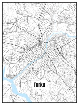 Kartta Turku