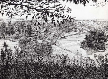 View from Richmond Hill London, 2004, Taidejuliste