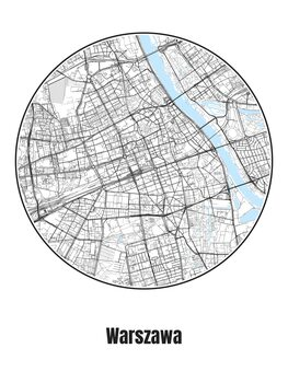 Kartta Warszawa