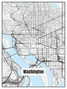 Kartta Washington