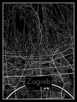 Kartta Zagreb