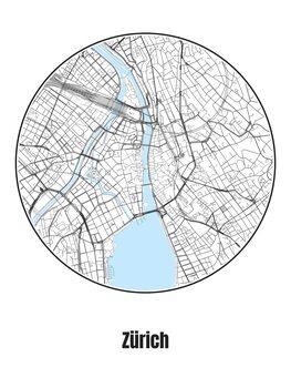 Kartta Zürich