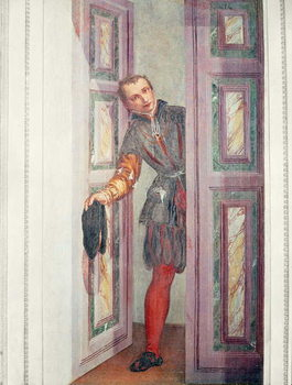 A Servant at the Door, 1562 Taidejuliste