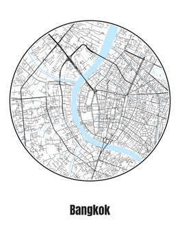 Kartta Bangkok