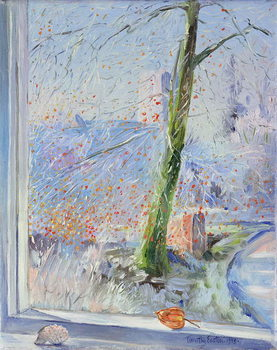 Beech Tree and Haw Frost, 1989 Taidejuliste