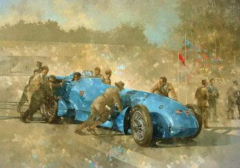 Bluebird, 1928 Taidejuliste