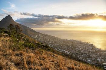 Eksklusiiviset taidevalokuvat Cape Town Sunset