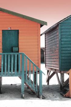 "Eksklusiiviset taidevalokuvat Colorful Houses ""Forty Seven"" Brick & Greensea"