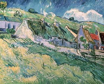 Cottages at Auvers-sur-Oise, 1890 Taidejuliste