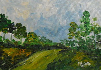 Down the hill, 2014 Taidejuliste