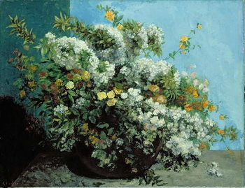 Flowering Branches and Flowers, 1855 Taidejuliste