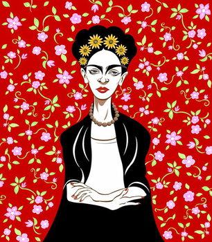 Frida Kahlo, 2018 Taidejuliste