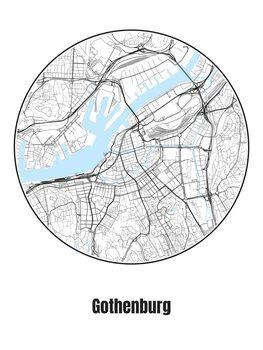 Kartta Gothenburg