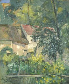 House of Père Lacroix, 1873 Taidejuliste
