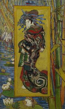 Japonaiserie: Courtesan or Oiran (after Kesai Eisen), Paris, 1887 Taidejuliste