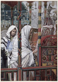 Jesus Teaching in the Synagogue, illustration for 'The Life of Christ', c.1886-94 Taidejuliste