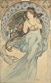 La Musique, 1898 Taidejuliste