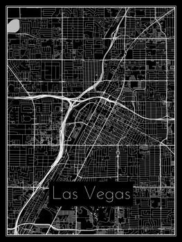 Kartta Las Vegas