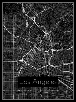 Kartta Los Angeles